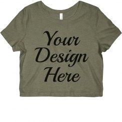 Create Your Custom Crop Top