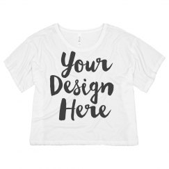 Create Your Custom Crop Top