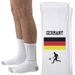 Germany soccer fan