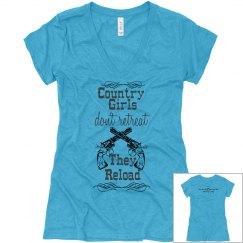 Country girls- v neck