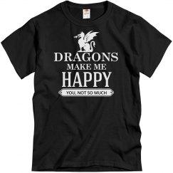 Dragons make me happy