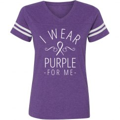I Wear Purple For Me