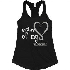 Matters of My Heart Black Shirt
