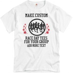 Custom Race Run Walk Shirts for Your Group