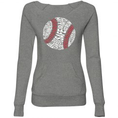 Womens Slim Sweatshirt