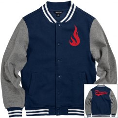 Liberty flames men's jacket.