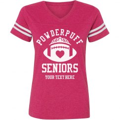 Powderpuff Seniors Custom Text