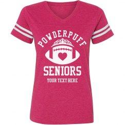 Powderpuff Seniors Custom Text