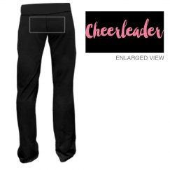 Cheerleader Script Yoga Pants
