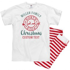 Custom Matching Family Christmas Pajamas