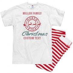 Custom Matching Family Christmas Pajamas