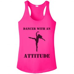 Dancer with an Attitude - Racerback tank