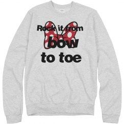 Rock it cheer pullover