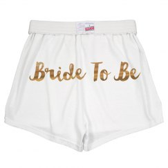Gold Metallic Bride To Be Gift