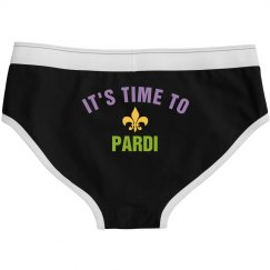Mardi Gras It's Time To Pardi