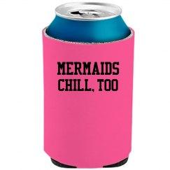 Mermaids chill, too