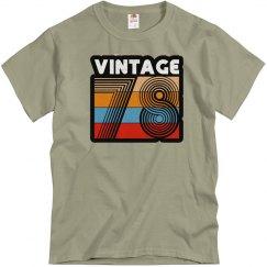 Vintage 78 tee