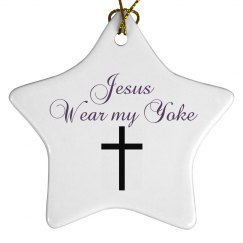 Jesus wear my yoke