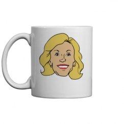 Elaine on a mug