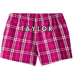 Custom Pink Plaid