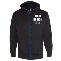 Custom Design Glow Hoodie