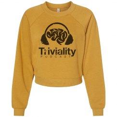 Triviality Distressed Raglan Sweater
