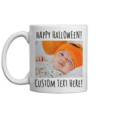 Custom Photo Upload Halloween Gift