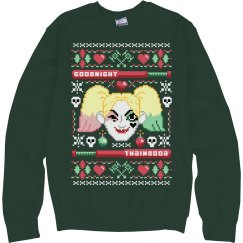Harley Quinn Ugly Christmas Sweater