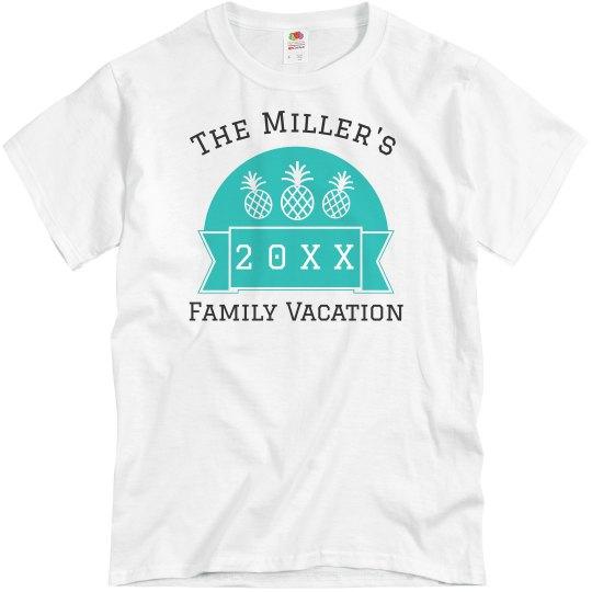 cd1c55534 Custom Group Family Vacation Unisex Basic Promo T-Shirt