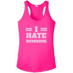 I Hate Running Funny Fitness