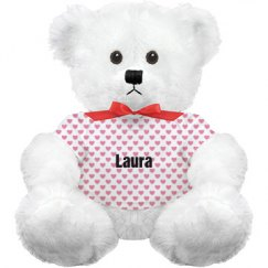 All Over Print Valentines Day Teddy Bear