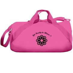 Get Ready to Bloom Duffel Bag