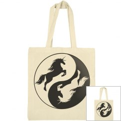 Yin Yang Unicorn Bag
