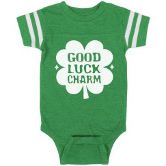 Good Luck Charm St. Patrick's Onesie