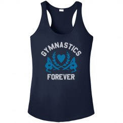 Trendy Metallic Gymnastics Forever