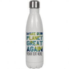 Make Our Planet Great Water Bottle