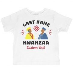Custom Family Kwanzaa Toddler Tee