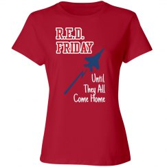 Red Friday Plane