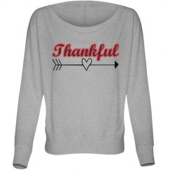 Thankful Flowy Shirt