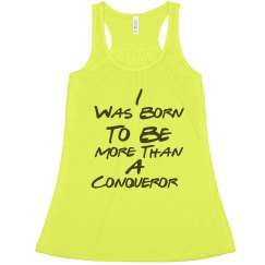 Conqueror Flowy Lightweight RacerBack Tank (Yellow)