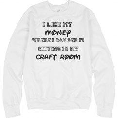 Crafty Addicts Sweatshirt