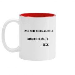 Beck quote mug