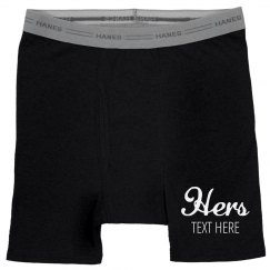 His & Hers Couple Underwear