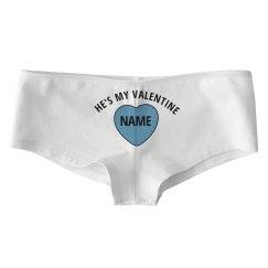 Matching Valentine's Day Underwear