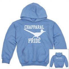 Chaparral Pride Light Blue w/White Pullover Sweatshirt