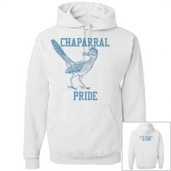 White Chaparral Alumni Pullover