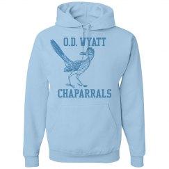 O.D. Wyatt Chaparrals Light Blue pullover