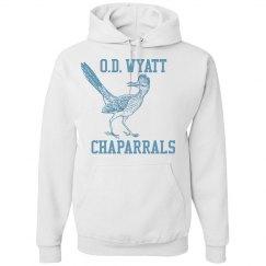 White O.D. Wyatt Chaparrals Pullover
