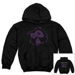 Student Logo Black Pullover sweatshirt