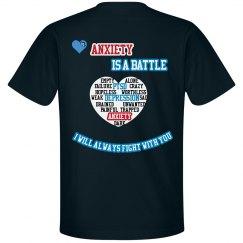 Anxiety Men's T-Shirt